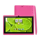 "KOCASO 7"" inch Android 4.4 Quad Core Tablet PC 8GB Dual Camera WiFi Bluetooth"