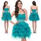 Short Cocktail Party Prom Bridesmaid Wedding Gown Evening Graduation Dresses