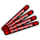 Double-Sided Nail File Emery Board Set 4 Pack I Love Heart Sports Hobbies T-Z