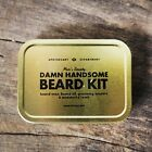 Mens Society Damn Handsome Beard Kit