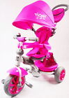 LITTLE TIGER 4 IN 1 KIDS CHILDREN CHILD BABY TODDLERS TRIKE TRICYCLE STROLLER