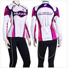 Women's Bicycle Jersey cycling long sleeve Cycling wear+Pants Set Sports Uniform