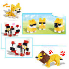 Lovely100 Pcs Assorted Plastic Puzzle Educational Building Blocks for Kids KEW