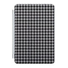CUSTOM Smart Cover for iPad Mini or Air Black White Houndstooth Pattern