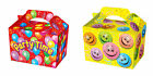10 Party Lunch Boxes Smiley Face Party Time Party Favour Loot Bag Food Box