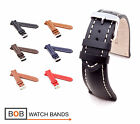 BOB Classic Calf Watch Band for Breitling, 18, 20, 22, 24 mm, 6 colors, new!