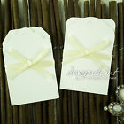 Pack of 24 Zakka Simple White Wedding Gift Tags Luggage Hang Tag Price Label