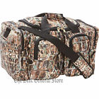 "21"" Gator Camo Tote Carry On Bag Gym Duffle Luggage Hunting Water-Resistant"