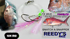 10 Snapper Rigs Fishing Rig tied Paternoster Flasher Lure Tackle Combo Hook FLy