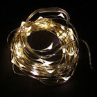2M String Fairy Light 20 LED Battery Operated Xmas Lights Party Wedding Hot