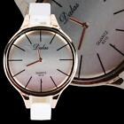 New Luxury Women Lady Leather Band Sport Analog Quartz Wrist Watch