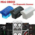Mini OBDII Bluetooth 2.0 Adapter Auto Diagnostic Scanner For Android ISO Windows