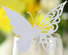 Wine Cards Wedding Party Place Name Cards Butterfly Laser Cut