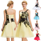 Teens Short Applique Homecoming Dress Evening Ball Gown Bridesmaid Prom Dresses