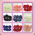 ARTIFICIAL 9cm foam Peony Roses  All colours Tea Parties  Shabby Chic Vintage