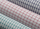 Pack of Wonderdry Checked Kitchen Tea Towels Absorbent Cotton Catering Cloths
