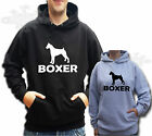 BOXER DOG t-shirt HOODIE HOODY L ADULT SALE ITEM SIZE LARGE