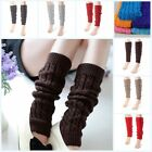 Внешний вид - New Women Winter Leg Warmers Girl Gaiters Knit Warm Boot Cuffs Lady Socks