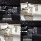 Catherine Lansfield Home Glamour Sequin Band Boudoir Filled Cushion, 30 x 40 Cm
