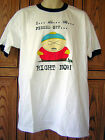 South Park Cartman I Am So Pissed Off RIGHT NOW White L T Shirt Hot Topic NOV1