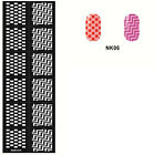 Easy Use Stamping Nail Art Template Stickers Stamp Stencil Guide Beauty Tips Hot