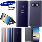 Smart Mirror Clear View Cover Flip Case Cover For Samsung Galaxy Note 8 S8/Plus