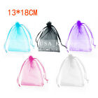 """New 5""""x7"""" 100pcs Organza Decor Gift Candy Jewelry Pouch Wedding Party Favor Bags"""
