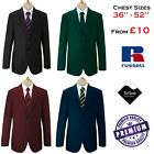 "36"" - 52"" Mens Formal Blazer Smart Jacket Black Royal Bottle Green Maroon Navy"