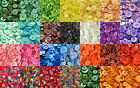 50grams MIXED BUTTONS, ASSORTED WOOD FLORAL PATTERN ARTS AND CRAFTS BUTTON,