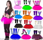 TUTU SKIRT SET NEON 80'S FANCY DRESS hen party