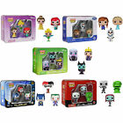 Funko Pocket Pop Figure Set Disney Frozen NBX DC Comics - New & Official In Tin