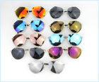 Fashion Aviator Sunglasses Men Women Revo Mirror Vintage Irregular Lens Shape