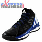 Adidas Mens Own The Game Basketball Hi Top Fitness Trainers Black *AUTHENTIC*