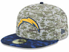 Official 2015 San Diego Chargers New Era 59FIFTY Hat NFL Salute to Service $49.99 USD