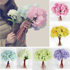 Artificial Hydrangea Bouquet Party Home Wedding Decor Fake Bridal Silk Flowers