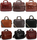 Women's Men's Large  Briefcase Unisex Large Laptop Office Bags Handbags 256 9017