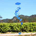 Multi Blue Butterfly Mobile Wind Chime Home Garden Window Living Decor Ornament
