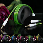 Headphone Male to Female 3.5mm Aux Jack Plug M-F Audio Extension Cord Cable New