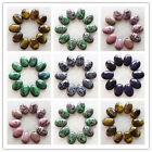 6pcs 18x25x6mm Beautiful Mixed Gemstone Oval CAB CABOCHON Choose Your Like Z026