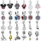 Silver Charms Pendant Dangle Beads Fit European s925 silver Barcelets US