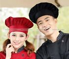 Chef Hat Baker Cloth Adjustable Black/Red/White