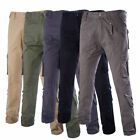 Men's Casual Skinny Pencil Work Pants Slim Straight-Leg Jeans Leisure Trousers