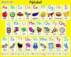 Alphabet For Children Learning Poster Kids BEDROOM Classic Poster A3 A4 AFCL01