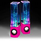 Speakers Music LED Dancing Water Fountain BLUETOOTH Enabled USB Power