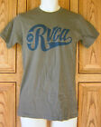 RVCA Blue Name Gray T Shirt Top Licensed R1