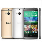 Vogue HTC One M8 (Android Model) 16GB (Factory Unlocked) Phone GREAT Gold Silver