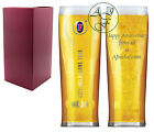 Personalised Engraved 1 Pint Fosters Branded Lager Glass Anniversary Gift