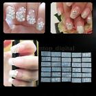 Beautiful 30Pcs Nail Art Print Moulds Stamper DIY Silica Gel Stamp Set E1M5