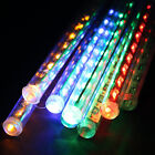 30cm 144 LED Showerproof 8Tube Hollow Meteor Shower Rain LED Light For Festival