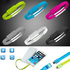 Universal Bracelet Band Mobile Phone Micro USB Data Sync Charging Cable 5 Color